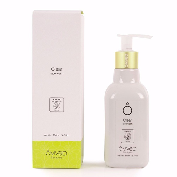Best natural products for blemishes in India, Omved Clear face wash