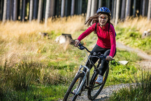 Cycling exercise for weight loss