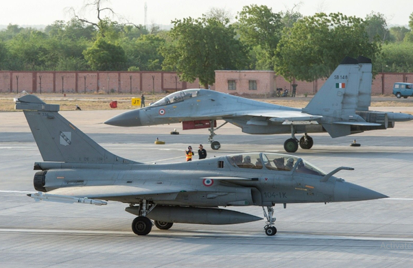 How will the Indian Air Force manage to have 42 squadrons and by when is it possible?