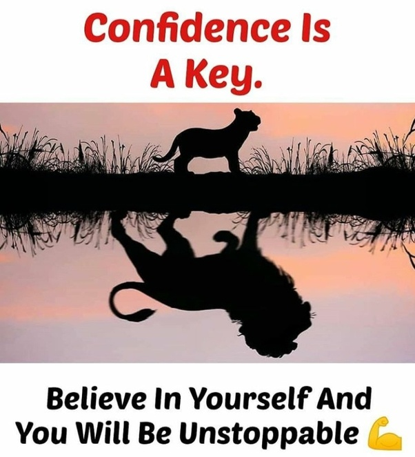 It's All About Self-Confidence. Monday Motivation pictures