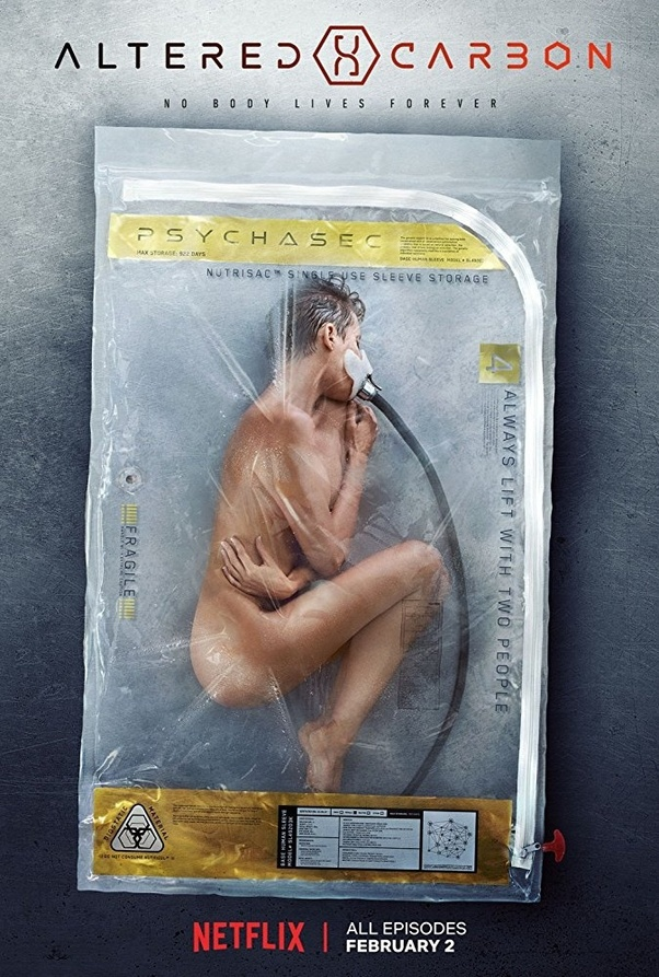 altered carbon TV Series to watch on Netflix