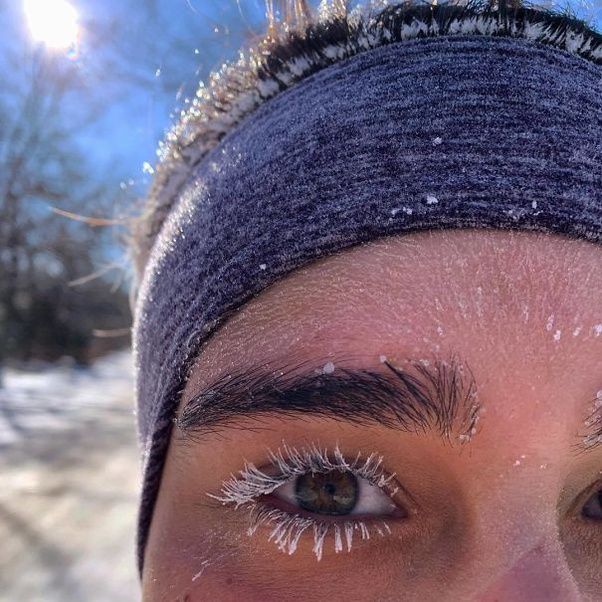 16 Pictures of insane cold weather