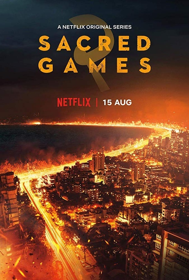 Sacred Games TV Series to watch on Netflix