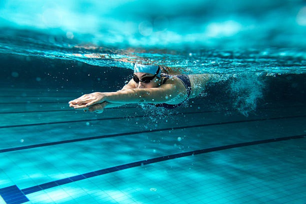 Swiming exercise for weight loss