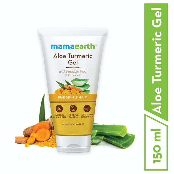 Best natural products for blemishes in India, Mamaearyh Aloe Turmeric Gel