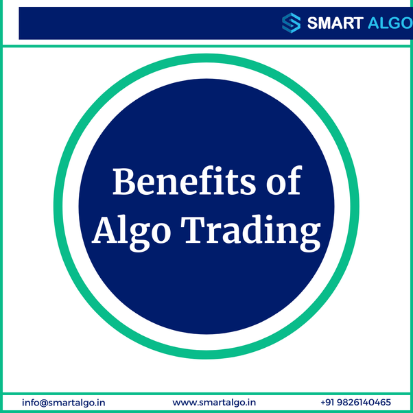 """We have answered a question on Quora - """"What are the benefits of Algo Trading?"""""""
