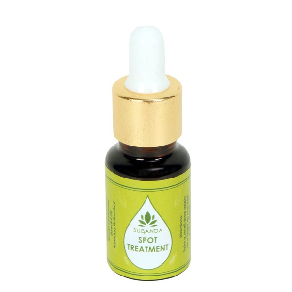 Best natural products for blemishes in India, Suganda Spot Treatment Facial Oil