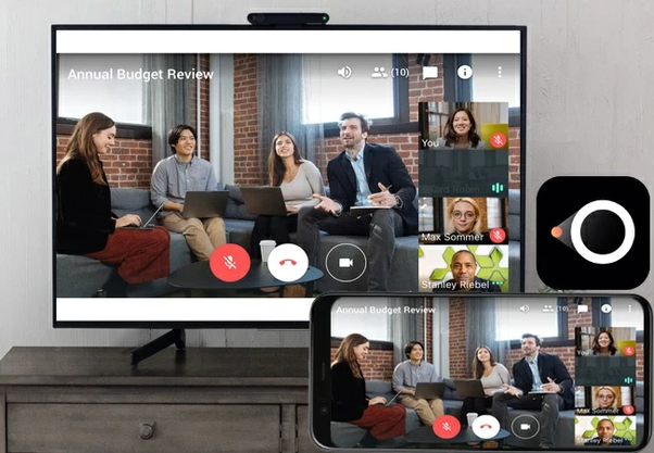 Cast Google Meet to your TV
