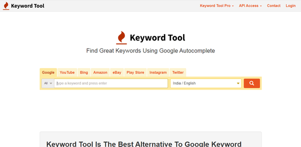 What is the best free keyword research tools for SEO?