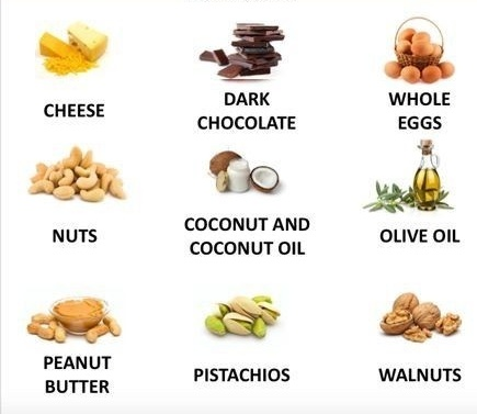 healthy(good) fats